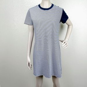 Tory Burch Sport Striped Shift Dress
